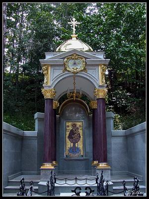 Мужской монастырь Свято-Вознесенская Давидова пустынь в Чеховском районе
