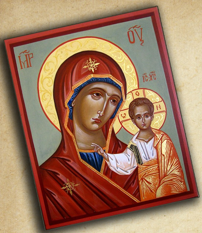 Икона Богоматери