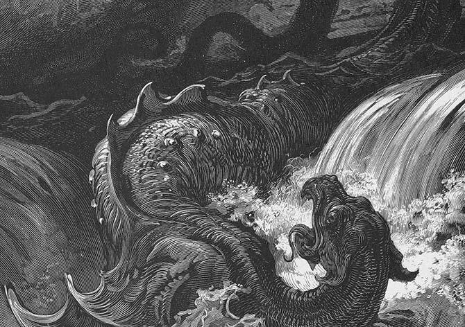 Существо Левиафан