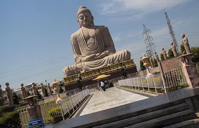 Бодх-Гая в индийском штате Бихар