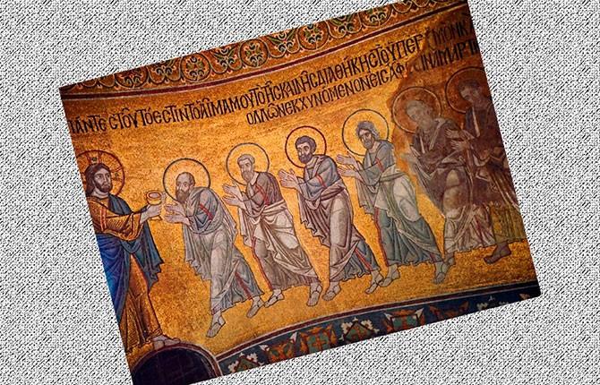 Мозаика храма Софии Киевской
