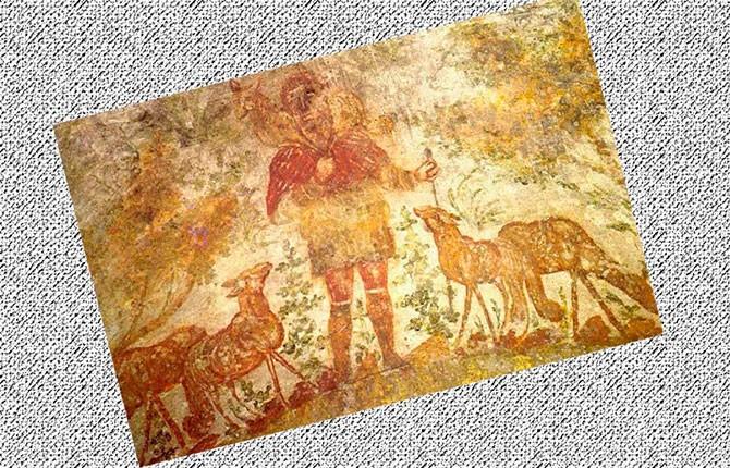Христианская настенная живопись в римских катакомбах