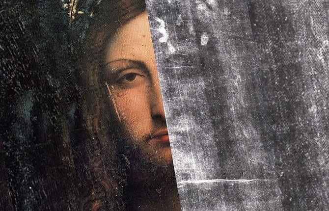 Лик Иисуса на Туринской плащанице